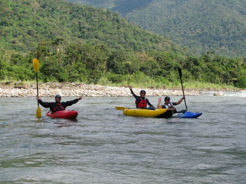 Arasa River. Amazon Rainforest