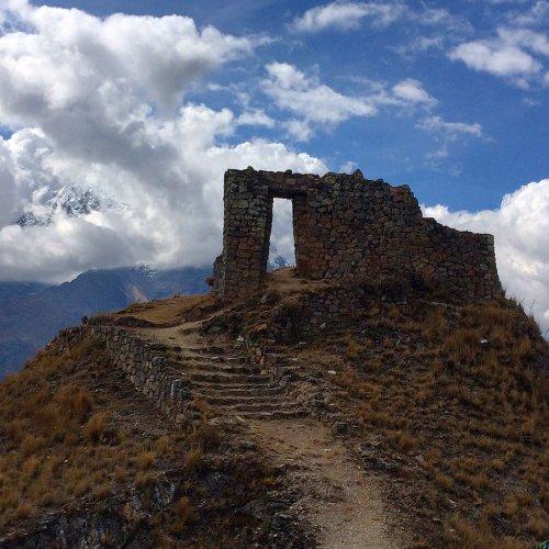 Sun Gate. Cachicata, Ollantaytambo, Cusco